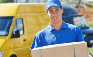 Le service livraison de l'imprimerie DFS