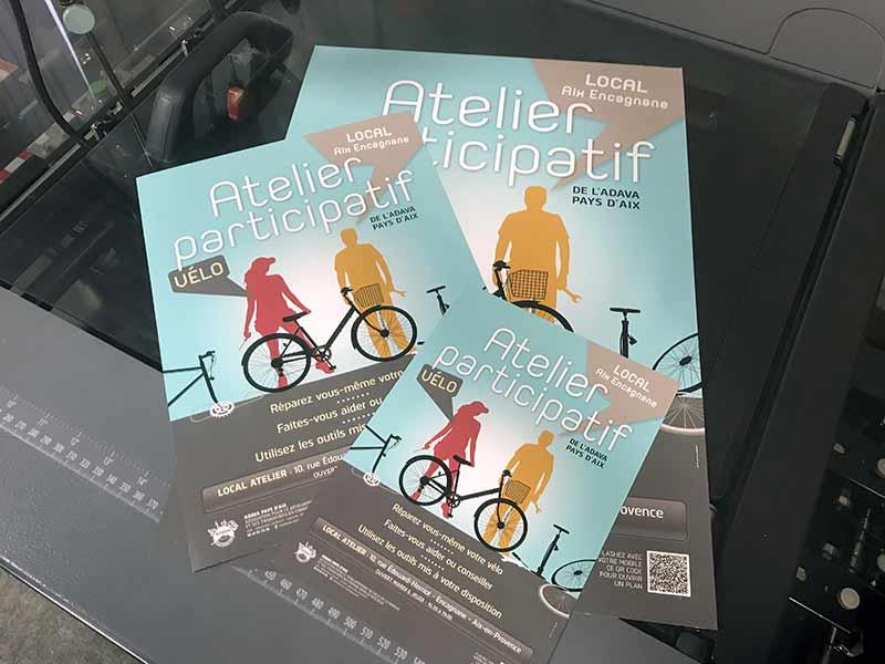 Flyers A3, A4, A5 à l'imprimerie DFS+ à Aix