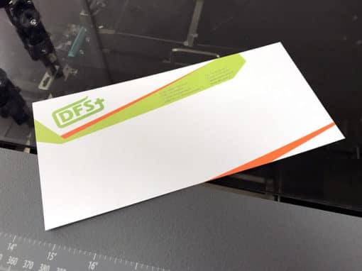 Impression de carte de correspondance