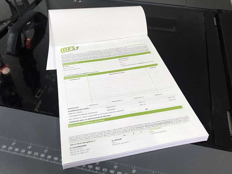 Imprimez vos carnets autocopiants à l'imprimerie DFS+ à Aix-en-Provence